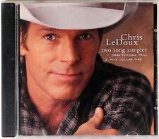 CHRIS LeDoux RARE 2 Track LIMITED SAMPLER PROMO DJ CD single 1996 USA