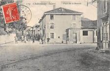 CPA 38 CHATONNAY PLACE DE LA BASCULE