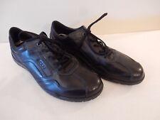 NEW ECCO Dacapo Lace Oxford w/ Support & Comfort Black Leather 48 EU /14-14.5 US
