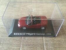 Norev 1/43 Renault Mégane Cabriolet 1999 red Renault Collection no paper box