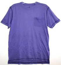 Nat Nast Mens Size S Purple Cotton Chest Pocket Designer T-Shirt NWT $45 Size S