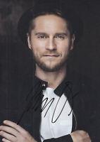 Johannes OERDING - dt. Popsänger, Original-Autogramm!