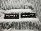 Hiwatt Amplifiers 2 Sticker Set<>GENUINE<>ORIGINAL