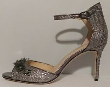 "NEW!! Imagine Vince Camuto Prisca Silver Sandals 3.5"" Heels Size 9M US 39M EUR"