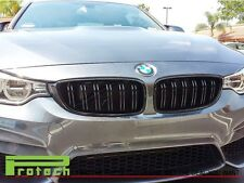 M4 Look Glossy Black Front Grille For F36 4228i 435i Gran Cope 4Dr BMW 2014+