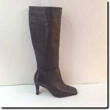 "Markon Classic Brown ""Winslow"" Leather Boot with 2.5"" heel 6.5"
