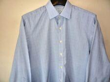"Charles Tyrwhitt Mens Shirt 16.5"" / 42cm Classic Fit Single Cuff 34"" sleeves"