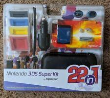 "Brand New Nintendo 3DS ""22-in-1"" Super Kit - Accessory Kit"