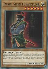 YU-GI-OH CARD: ENISHI, SHIEN'S CHANCELLOR - COMMON - OP06-EN024