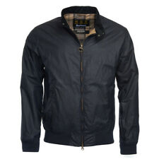 Barbour Lightweight Royston Waxed Jacket navy