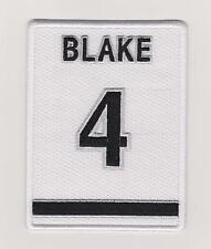 Los Angeles Kings Rob Blake Retirement Patch