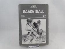 BASKETBALL BASKET BALL - ATARI 2600 VCS e 7800 - BOXATO BOXED COMPLETO