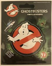 Ghostbusters Logo Vinyl Stickers Official Carded
