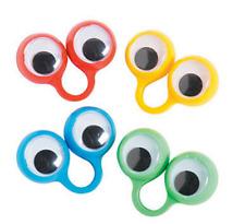 Pack of 8 - Eye Peeper Rings - Party Loot Bag Fillers
