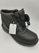 Warrior Black Chukka Safety Boot MMB6 UK 7 Brand New In Box EU 41 Work Footwear