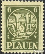 Plauen in Vogtland 2y unmounted mint / never hinged 1945 destroyed magpie bridge