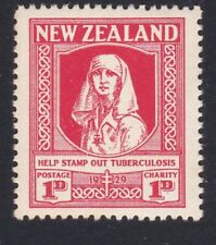 NEW ZEALAND 1929 Health Nurse fine mint hinged.............................87537