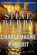 """SIGNED """"The Charlemagne Pursuit"""" by Steve Berry NEW 1st Edit/Printing HC/DJ H 2"""