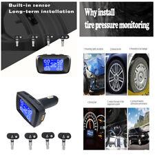 New Wireless Car Tire Pressure Monitoring TPMS Alarm Systems w/4 Internal Sensor