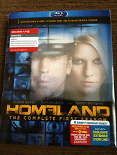 HOMELAND: The Complete First Season [4 Blu-ray+1 DVD, 2012] NEW TARGET-EXCLUSIVE