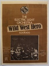 Electric Light Orchestra 1978 Poster Ad Wild West Hero