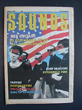 SOUNDS jun 21 86 BANGLES PSYCHEDELIC FURS RED GUITARS SOUP DRAGONS TRIFFIDS