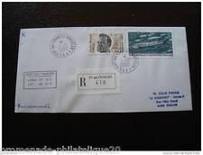 TAAF lettre 1/1/2000 - timbres Yvert et Tellier n°268 et 280