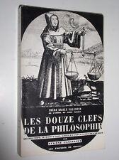 BASILE VALENTIN - LES DOUZE CLEFS DE LA PHILOSOPHIE - 1977