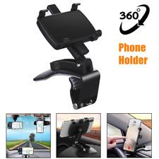 360°Rotate Multifunction Car Interior Nav Phone Holder Dashboard Rearview Mirror