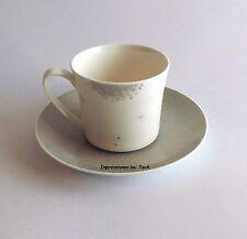 Rosenthal Curve Dandelion - 2 Kaffeetassen mit Untere - NEU 1.Wahl