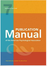 Publication Manual of the American Psychological Association 7th Edition [P.D.F]