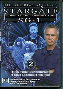 DVD - 'STARGATE The Collectors Edition SG.1 DVD 2'  (Region4)