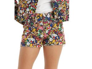 Levi's X Super Mario Premium 501 Original Mushroom-Kingdom Shorts Size 28