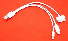 4 in 1 USB Kabel Passend für iPhone 2G 3G 3GS 4 4S 5 iPad 1/2/3 Samsung Tab