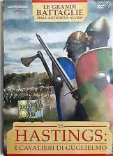 Hastings n° 16 Le Grandi Battaglie ( Dall'antichità all'800) Dvd Sigillato
