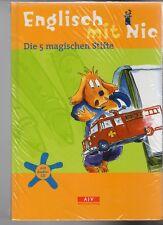 NEU + OVP - Englisch mit Nic - Die 5 magischen Stifte - Buch mit Audio-CD