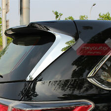 New 2X Trunk Window Wing Chrome Cover Garnish For Toyota Highlander 2014-2018