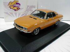 "Minichamps 940045500 # Opel Manta A Coupe Baujahr 1970 in "" ocker gelb "" 1:43"