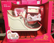 """Our Generation Winter Wonder Sled Christmas Holiday Sleigh 18"""" Girl Doll AG NEW"""