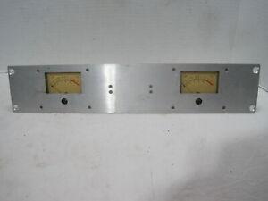 Ampex Aluminum VU Meter Bridge