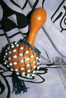8 inch/20cm Shekere GOURD SHAKER Maraca Djembe Music Percussion made in Ghana 5