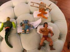 4 MOTU Masters of the Universe Thundercats FIGURES He-Man  Prince Adam  Whiplash
