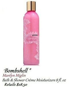 Marilyn Miglins Bombshell Bath & Shower Crème Moisturizers 8 oz - Retail  $28