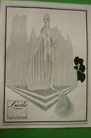1925 Original Art Deco Listing Print Haute Couture Lucile Paris Henry Mercier