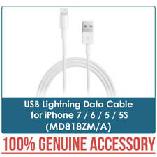 Apple Charger USB Lightning Data Cable MD818ZM/A for iPhone 7 / 6 / 5 / 5S New