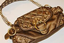 PARIS HILTON PURSE Bronze with Gold accents Handbag