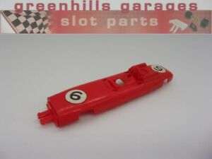 Greenhills Scalextric Vintage Porsche F1 No.6 C73 Body Shell - Used - S2569