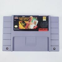 Super Caesars Palace SNES Nintendo Cartridge Only Video Game used tested works