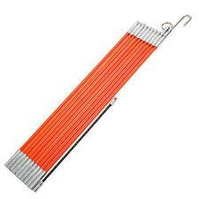 Electricians Cable Access Kit Puller Wires Rod L330cm 11PCS 5033FT