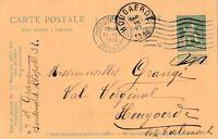 Postkarte verschickt von Anvers nach Hougaerde Belgien aus dem Jahr 1912